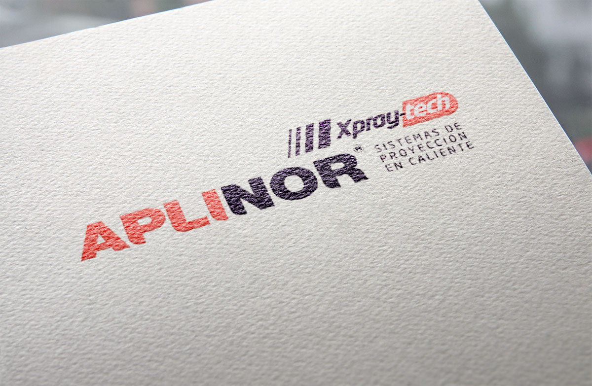 Aplinor Xpray-Tech | Diseño de logotipo