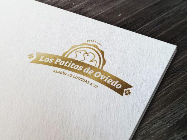 Los patitos de Oviedo - Diseño de logotipo