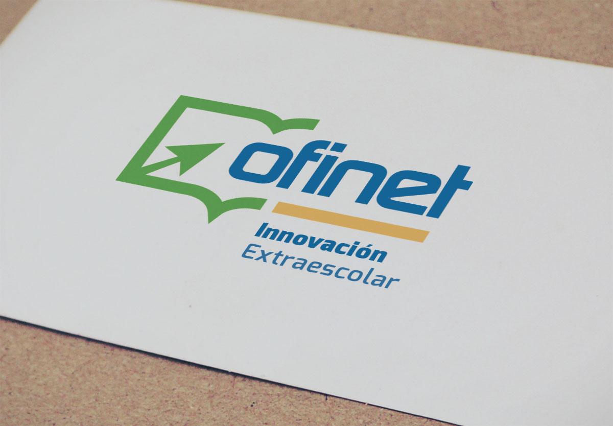 Ofinet Innovacion extraescolar diseño de logotipo