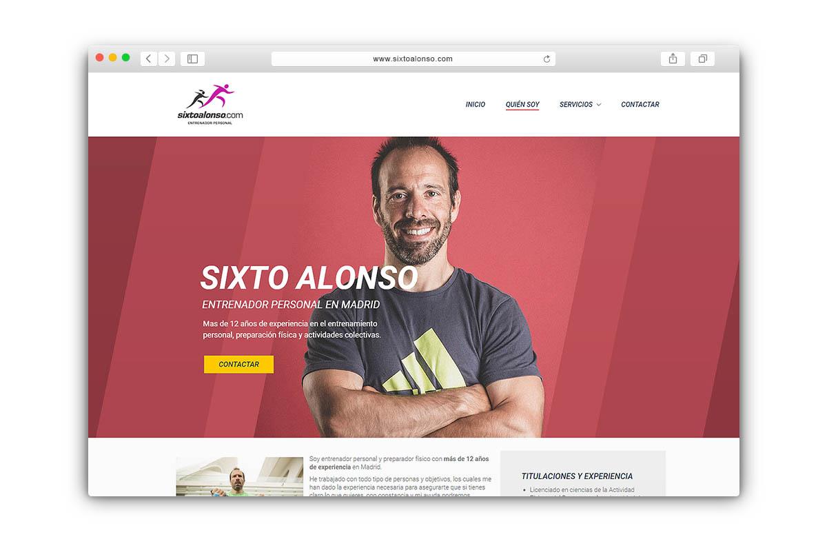 Sixto Alonso - Entrenador personal Madrid